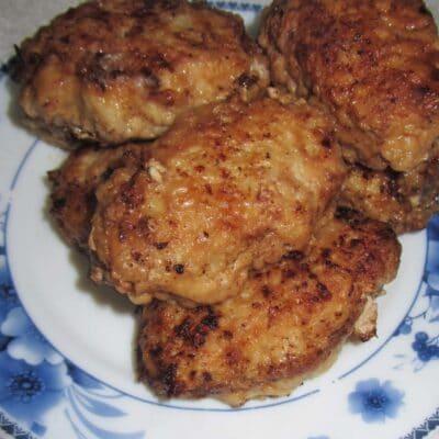 Котлеты с мясным фаршем и капустой - рецепт с фото