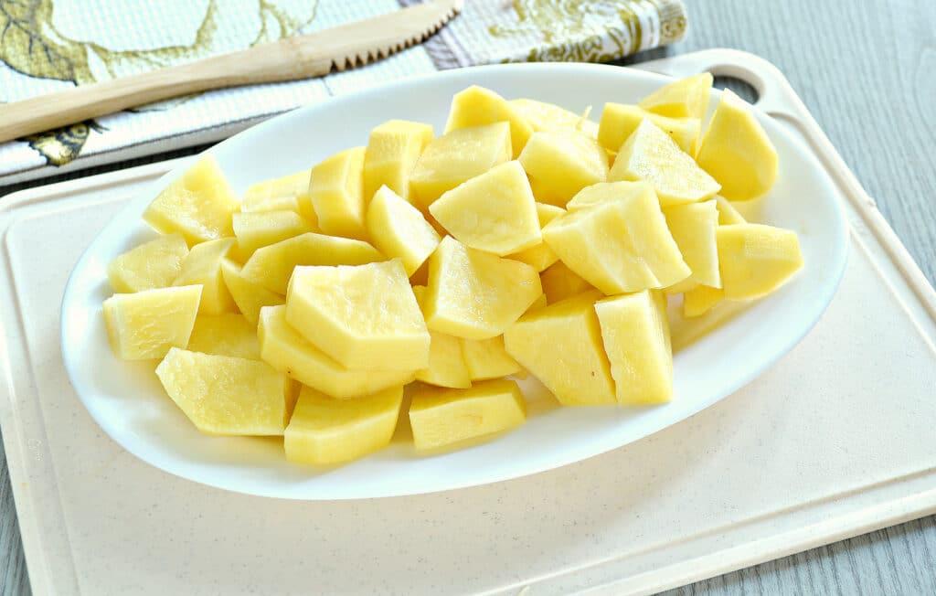 Фото рецепта - Овощное рагу с куриной грудкой и картофелем - шаг 4