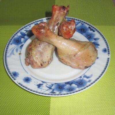 Курица в банке (запеченная в духовке) - рецепт с фото