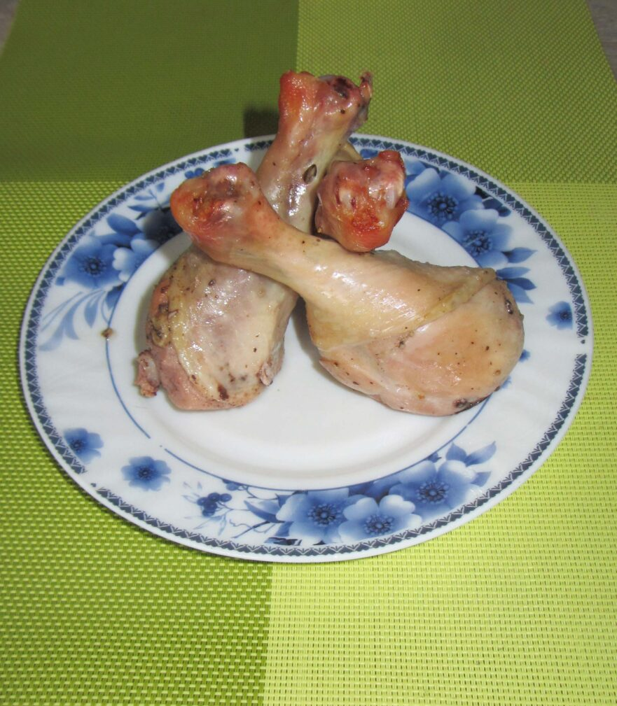 Фото рецепта - Курица в банке (запеченная в духовке) - шаг 5