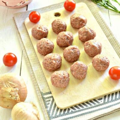 Мясные фрикадельки для супа - рецепт с фото