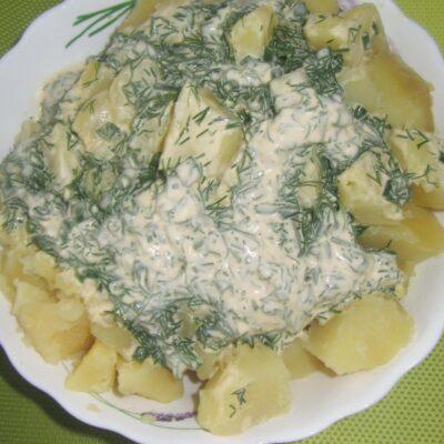 Сметанный соус с зеленью - рецепт с фото