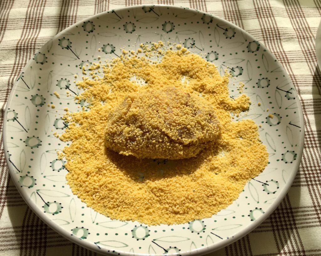 Фото рецепта - Гречаники из куриного фарша (котлеты с гречкой) - шаг 3