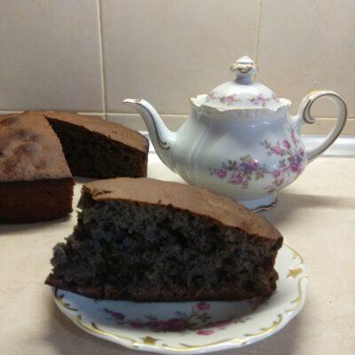 Черничный пирог к чаю - рецепт с фото