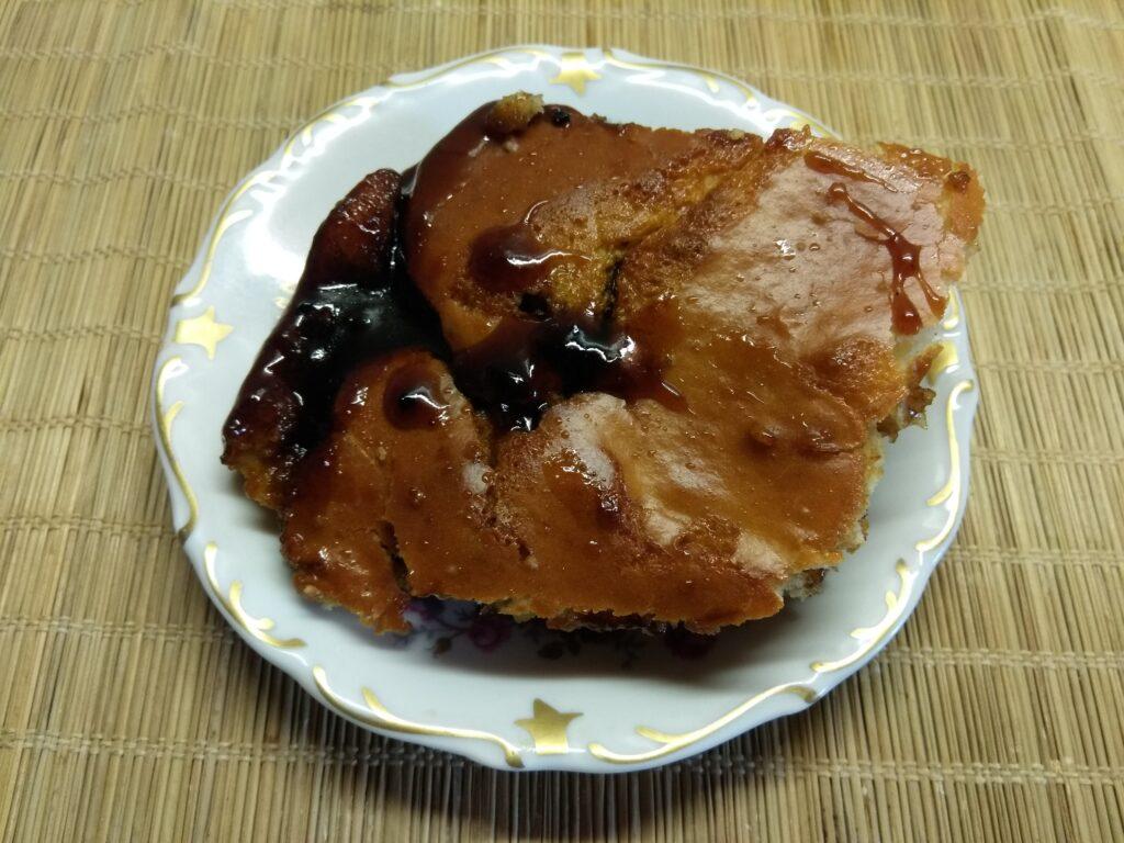 Фото рецепта - Простой пирог с вареньем - шаг 6
