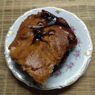 Простой пирог с вареньем - рецепт с фото