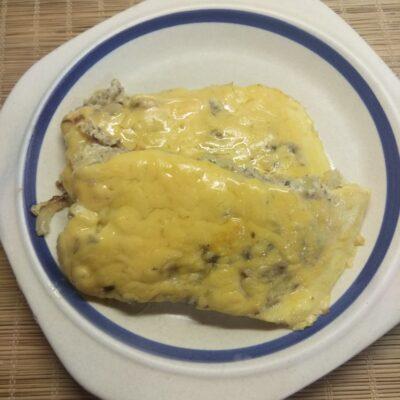 Омлет с консервированными сардинами - рецепт с фото
