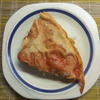 Пирог из лаваша с капустой и мясом - рецепт с фото