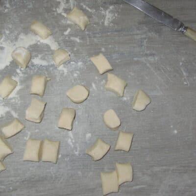 Фото рецепта - Ленивые вареники с творогом и тыквенным соусом - шаг 3