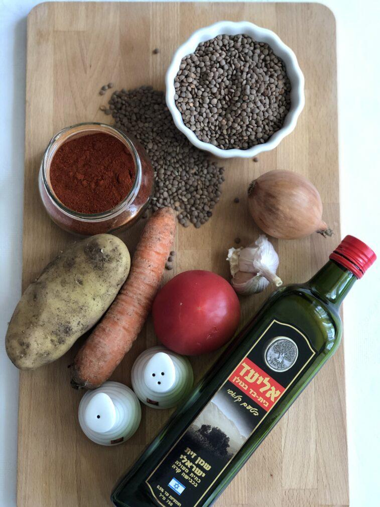 Фото рецепта - Крем-суп из чечевицы - шаг 1