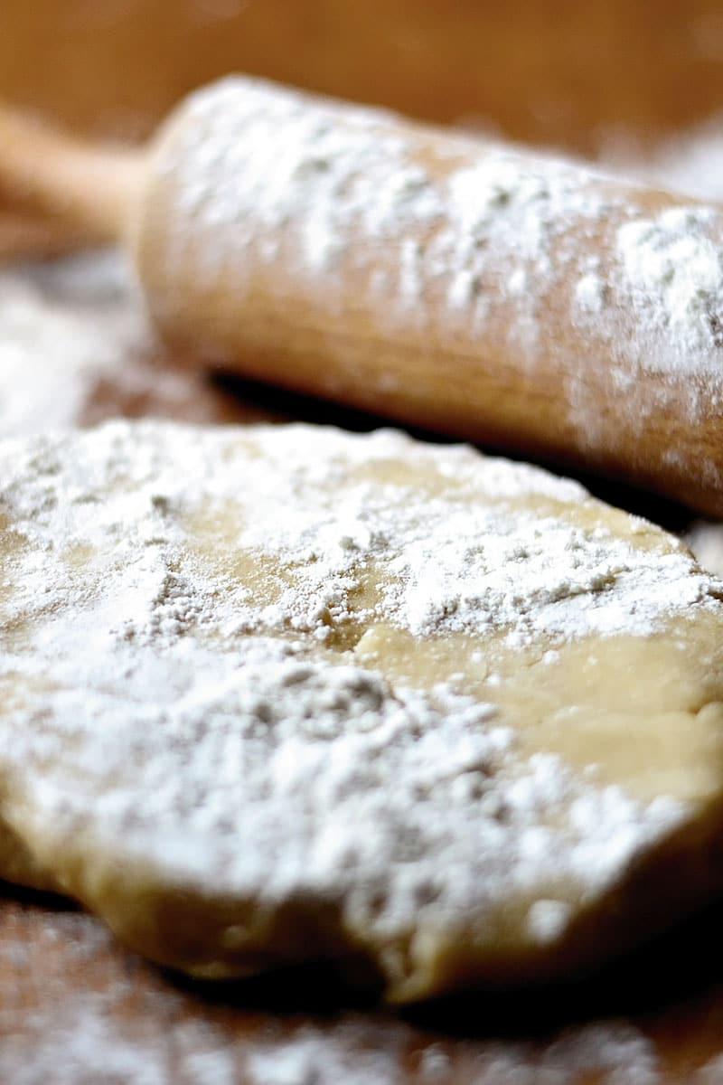 Рубленое песочное тесто