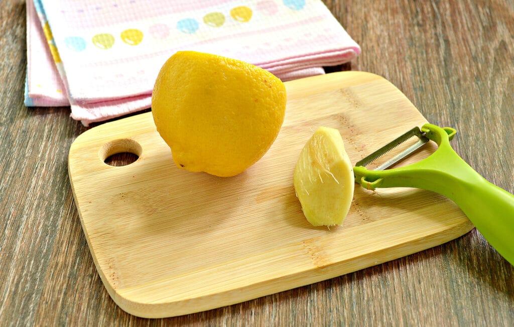 Фото рецепта - Имбирный чай в мультиварке - шаг 1