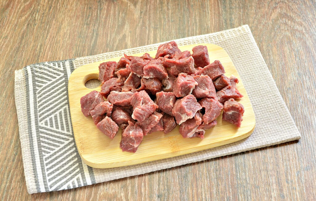 Фото рецепта - Плов с говядиной в мультиварке - шаг 2