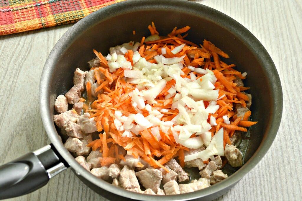 Фото рецепта - Мясная подлива с болгарским перцем - шаг 2