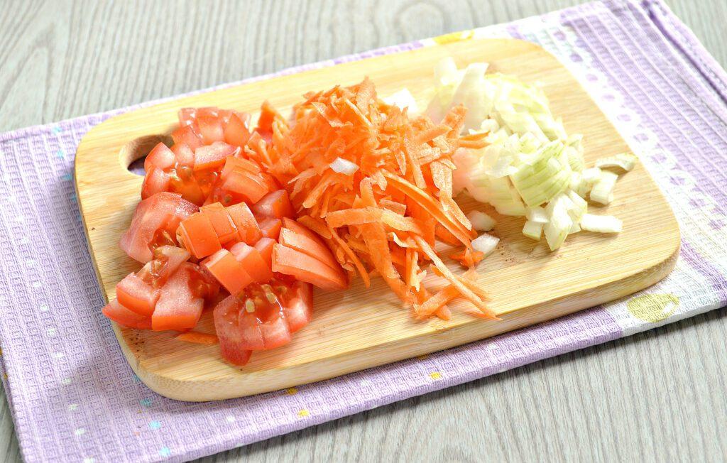Фото рецепта - Картофель тушёный с салом в мультиварке - шаг 2