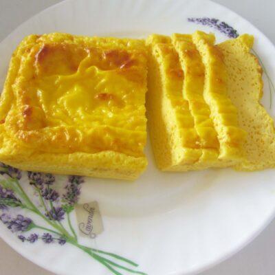 Пышный омлет в духовке - рецепт с фото