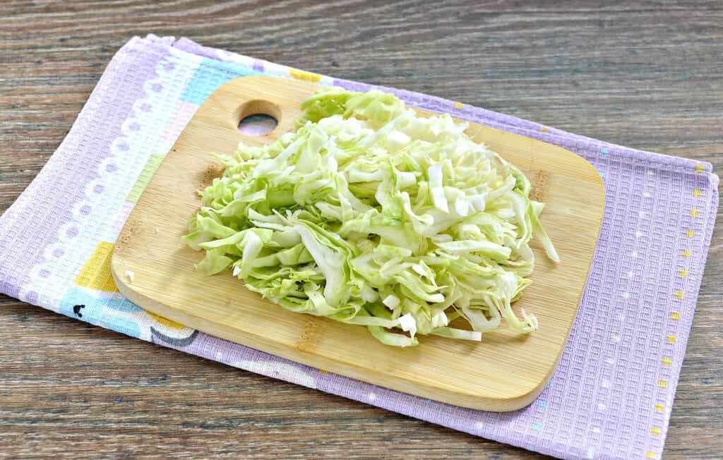 Фото рецепта - Солянка из капусты в мультиварке - шаг 3