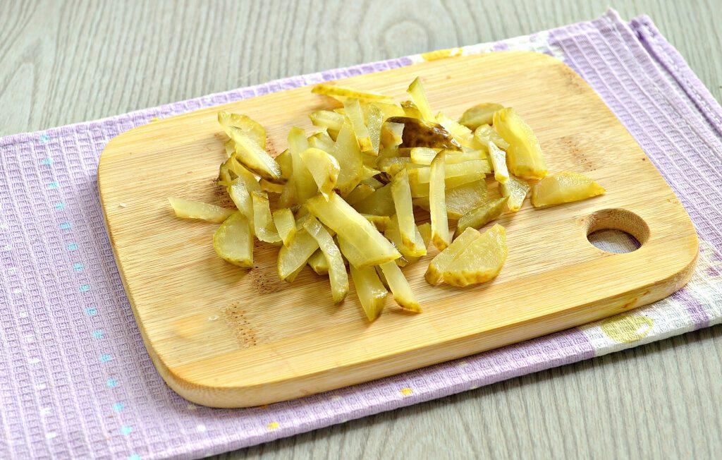 Фото рецепта - Картофель тушёный с салом в мультиварке - шаг 3