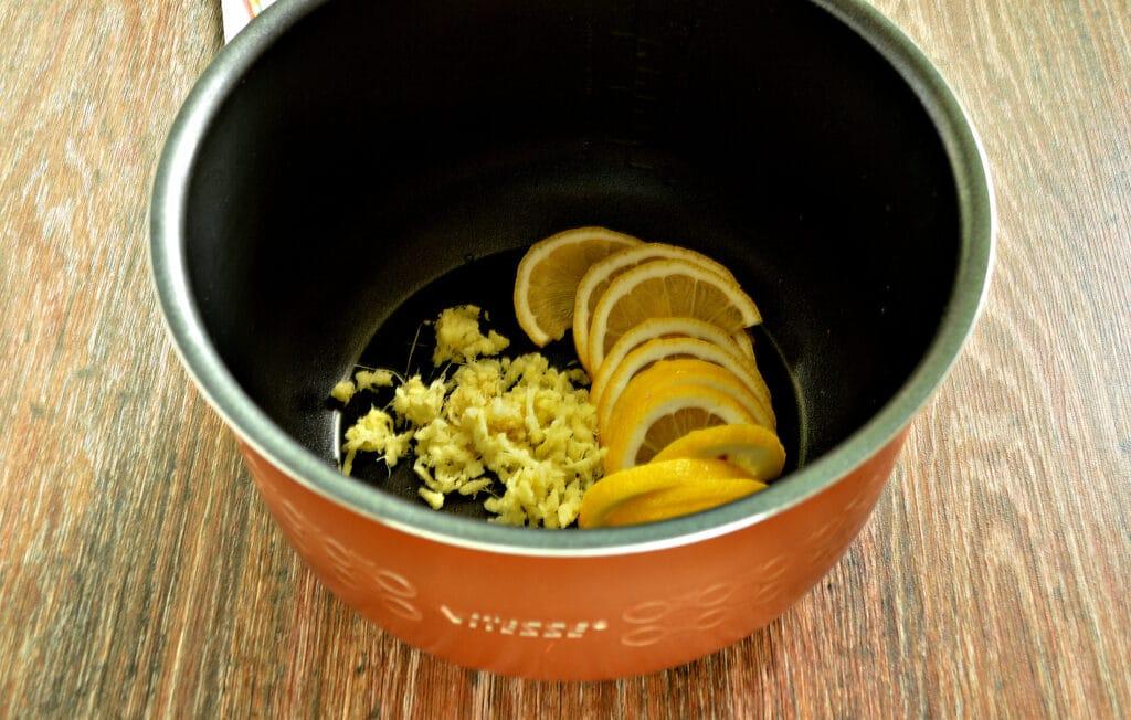Фото рецепта - Имбирный чай в мультиварке - шаг 4