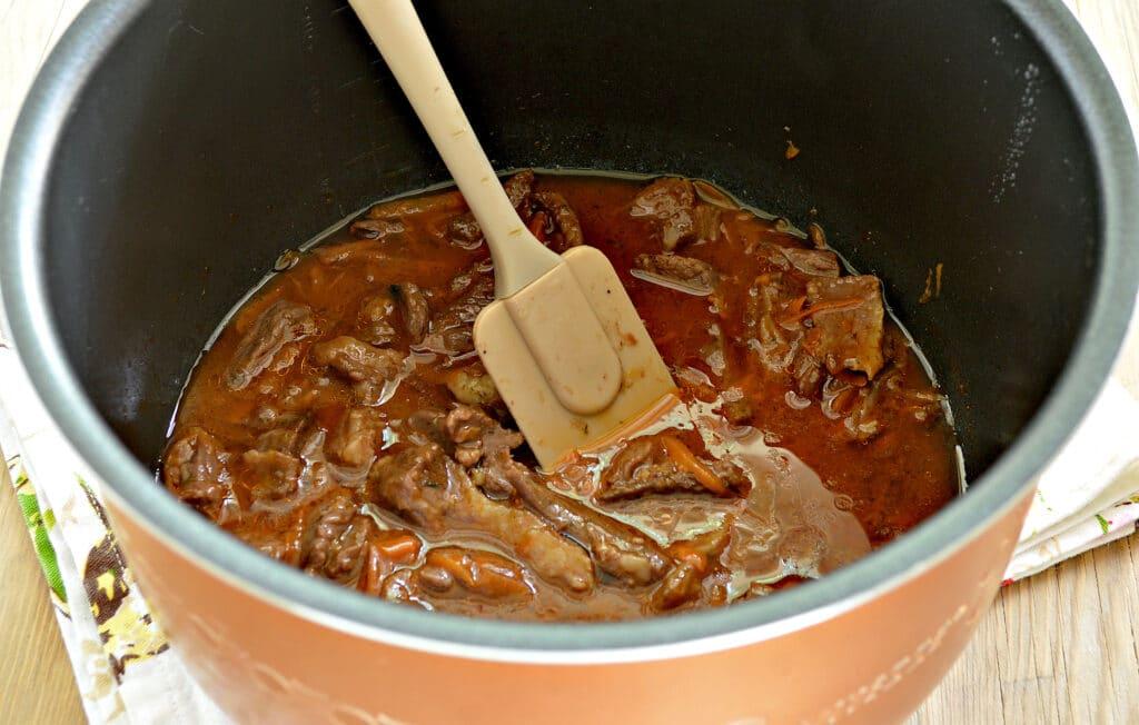 Фото рецепта - Подлива из говядины в мультиварке - шаг 5