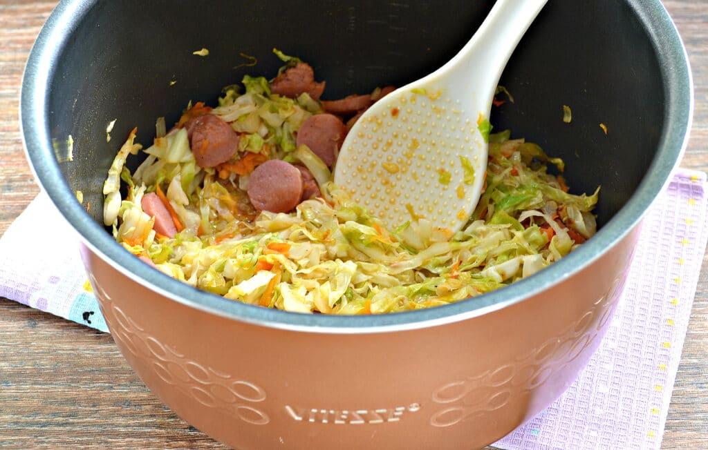 Фото рецепта - Солянка из капусты в мультиварке - шаг 5