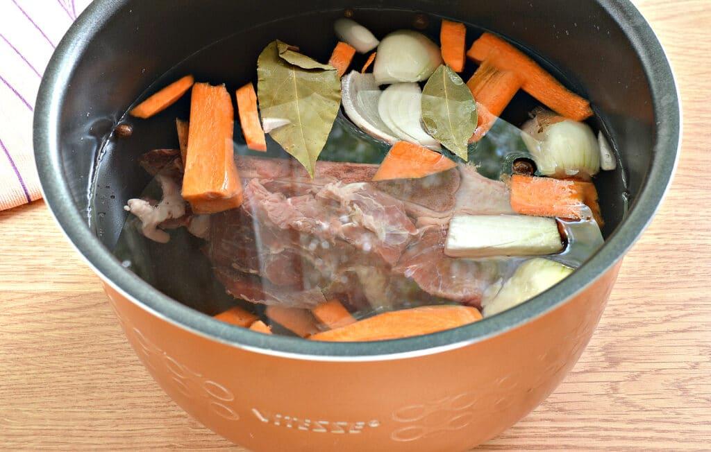 Фото рецепта - Мясной бульон в мультиварке - шаг 5