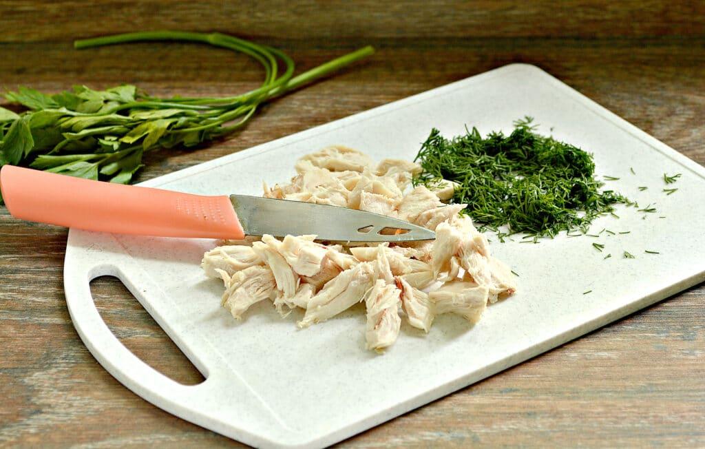 Фото рецепта - Гречневый суп с индейкой - шаг 5