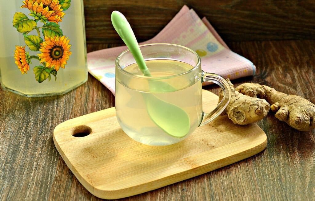 Фото рецепта - Имбирный чай в мультиварке - шаг 6
