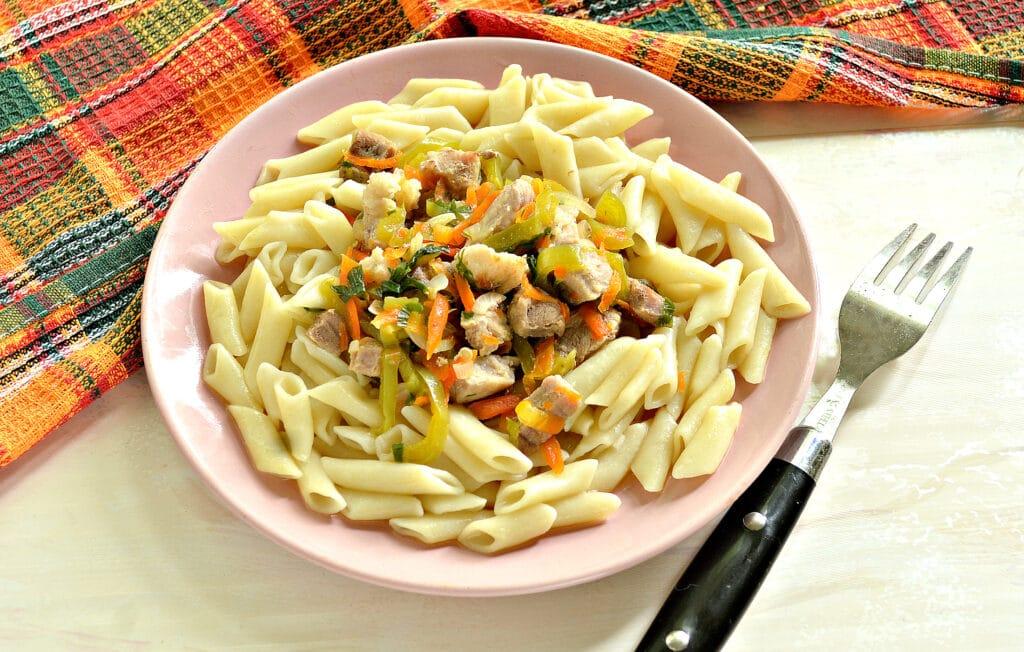 Фото рецепта - Мясная подлива с болгарским перцем - шаг 7