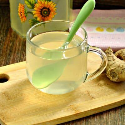 Имбирный чай в мультиварке - рецепт с фото