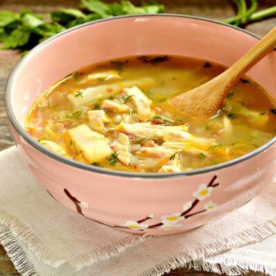 Гречневый суп с индейкой - рецепт с фото