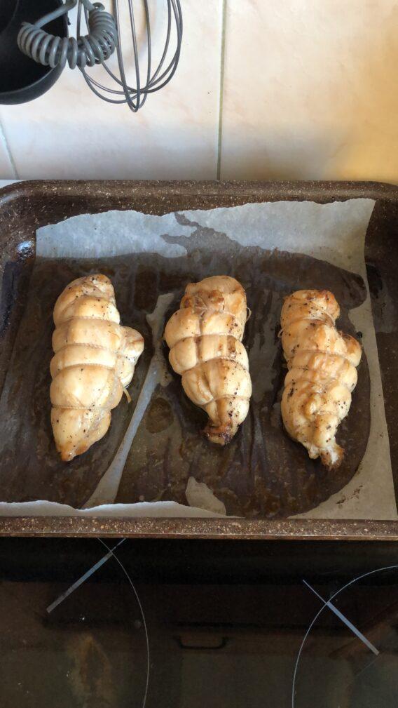 Фото рецепта - Пастрома из куриной грудки - шаг 6