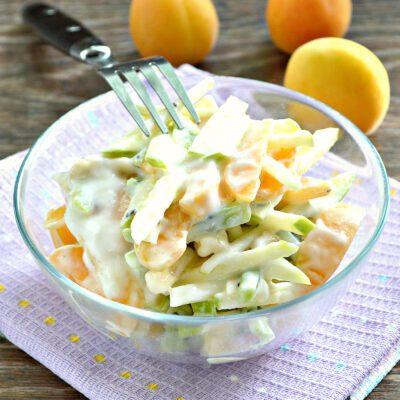Фруктовый салат с абрикосами - рецепт с фото