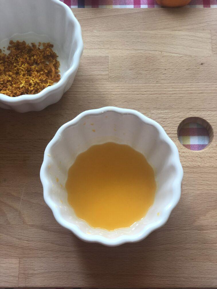 Фото рецепта - Мандариновое печенье - шаг 3