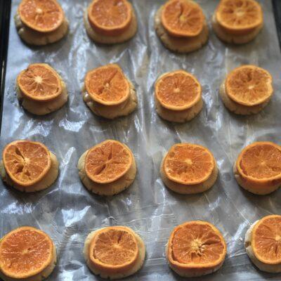 Фото рецепта - Мандариновое печенье - шаг 12