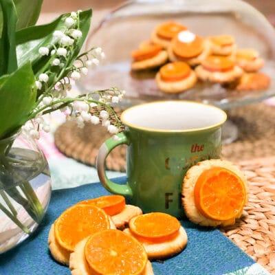Мандариновое печенье - рецепт с фото