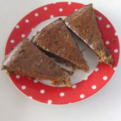 Печеночный пирог с морковью - рецепт с фото