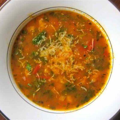 Суп Харчо с орехами - рецепт с фото