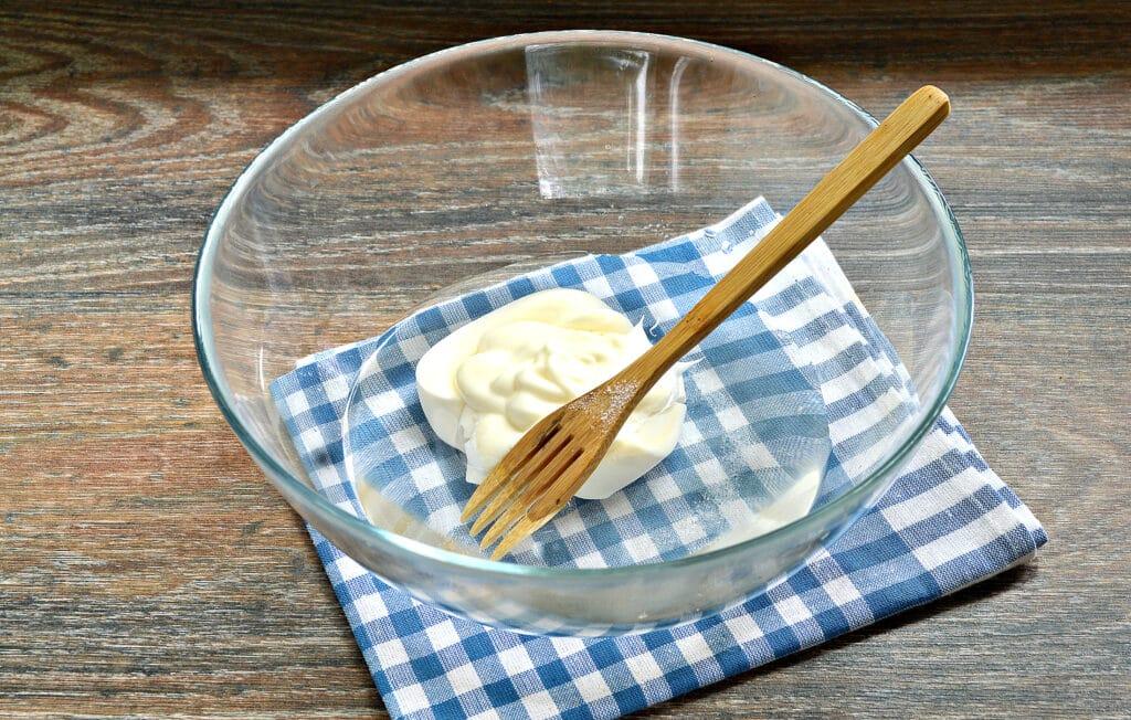 Фото рецепта - Тесто для курника на майонезе - шаг 2