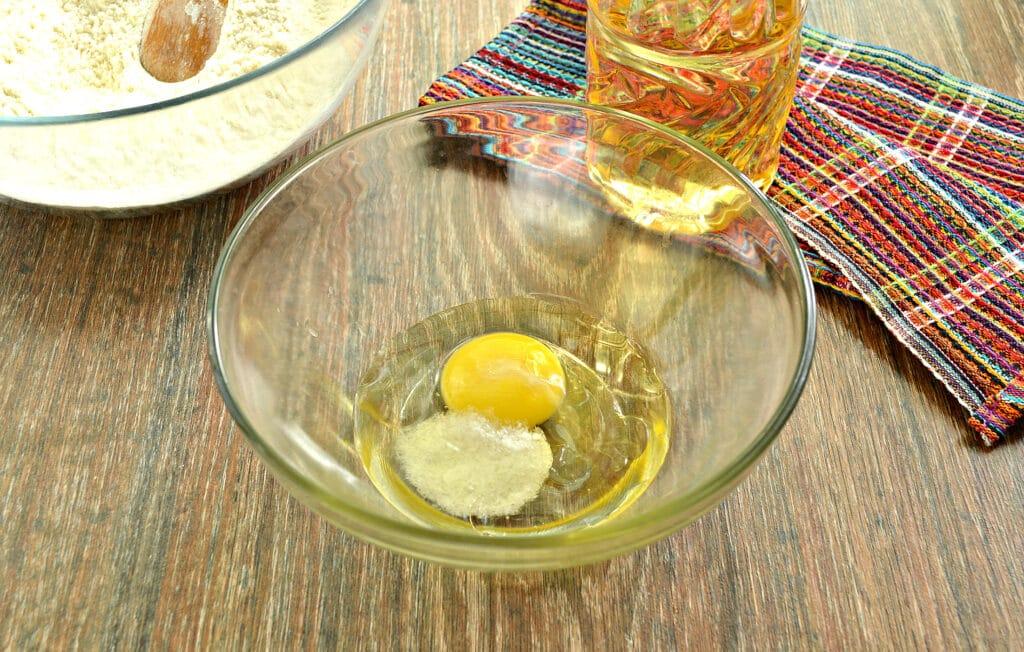 Фото рецепта - Заварное тесто для мантов - шаг 3