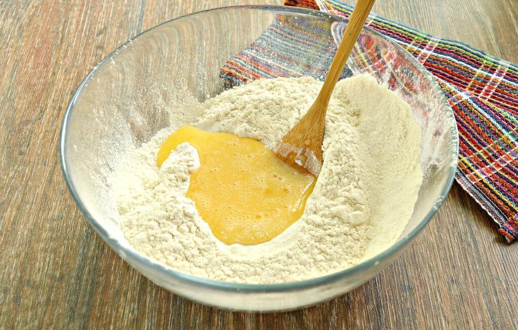 Фото рецепта - Заварное тесто для мантов - шаг 5