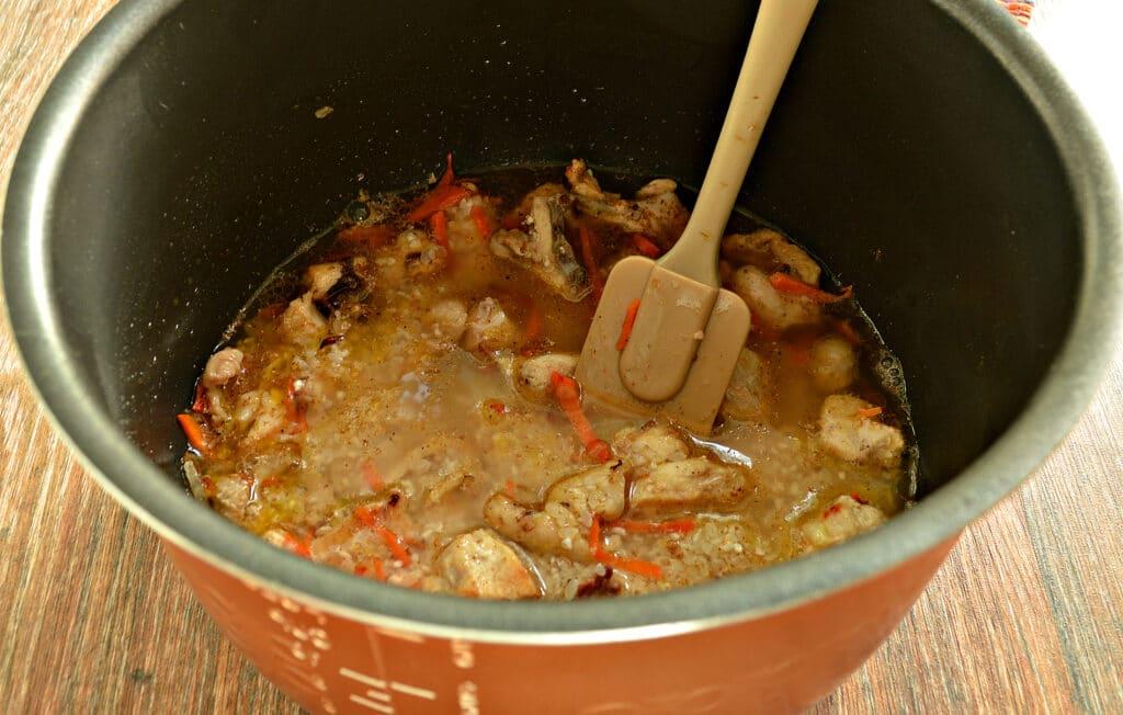 Фото рецепта - Плов с курицей в мультиварке - шаг 5