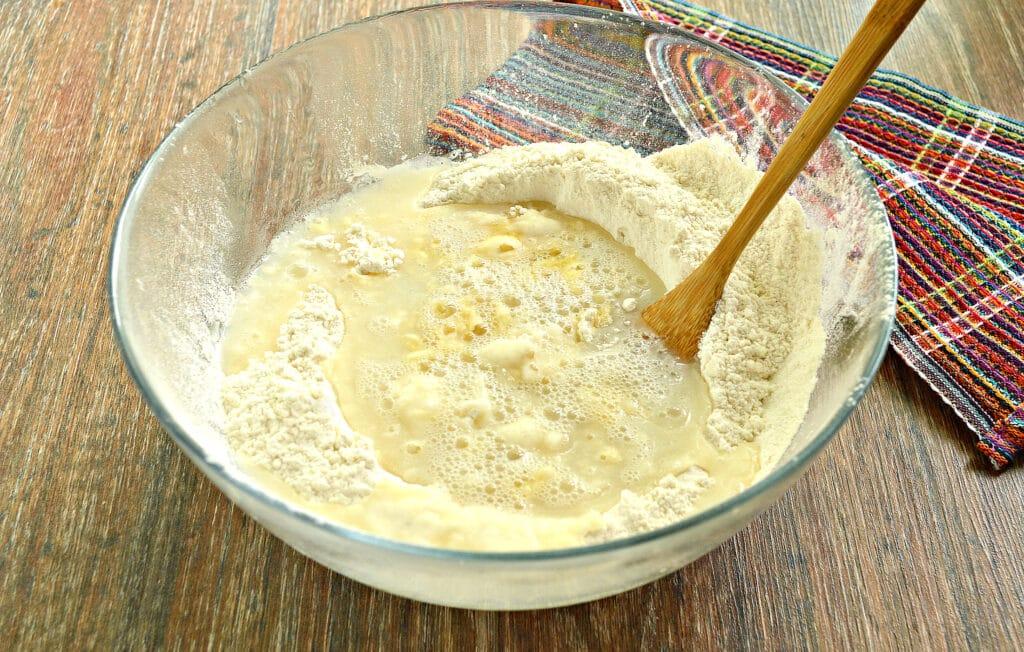 Фото рецепта - Заварное тесто для мантов - шаг 6