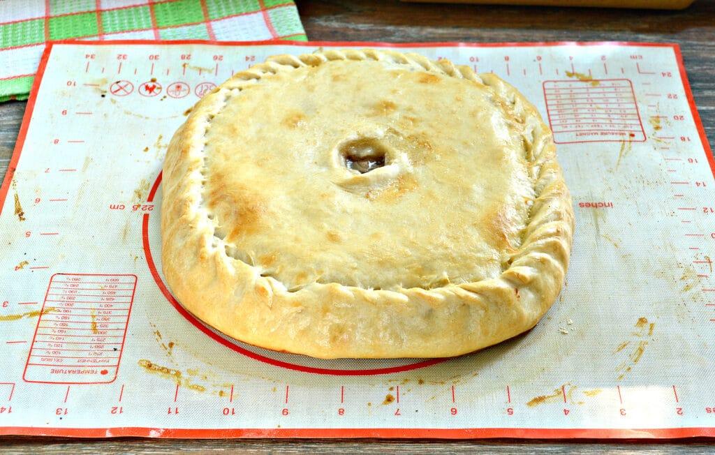 Фото рецепта - Пирог с картошкой и мясом - шаг 8