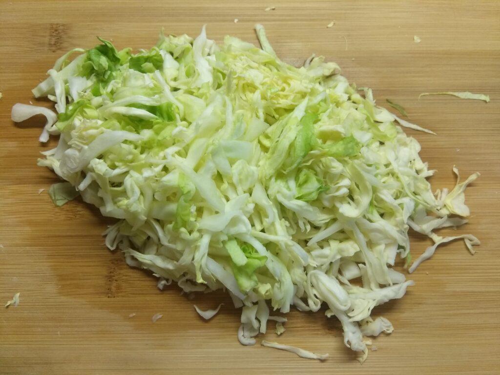 Фото рецепта - Овощной салат с яйцами и имбирем - шаг 1