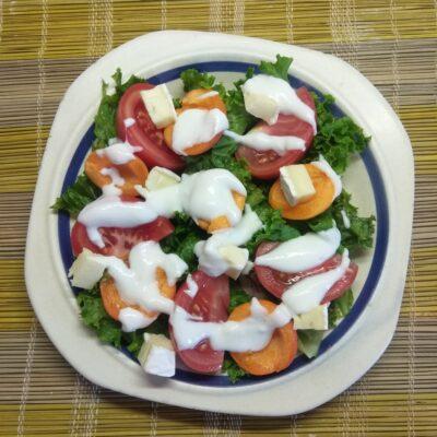 """Салат """"Лето на тарелке"""" - рецепт с фото"""