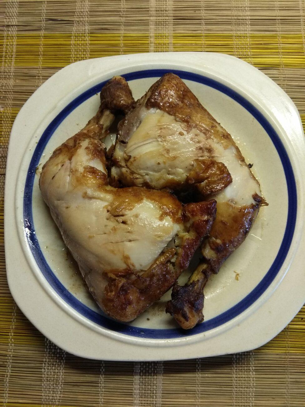 Курица в азиатском маринаде, запеченная в рукаве