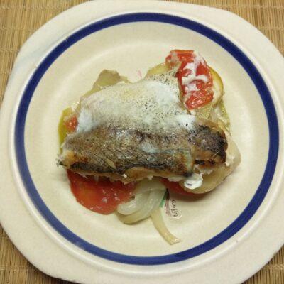 Фото рецепта - Хек, запеченный с овощами - шаг 8