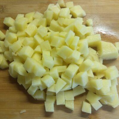 Фото рецепта - Постный красный борщ с бобами и болгарским перцем - шаг 2