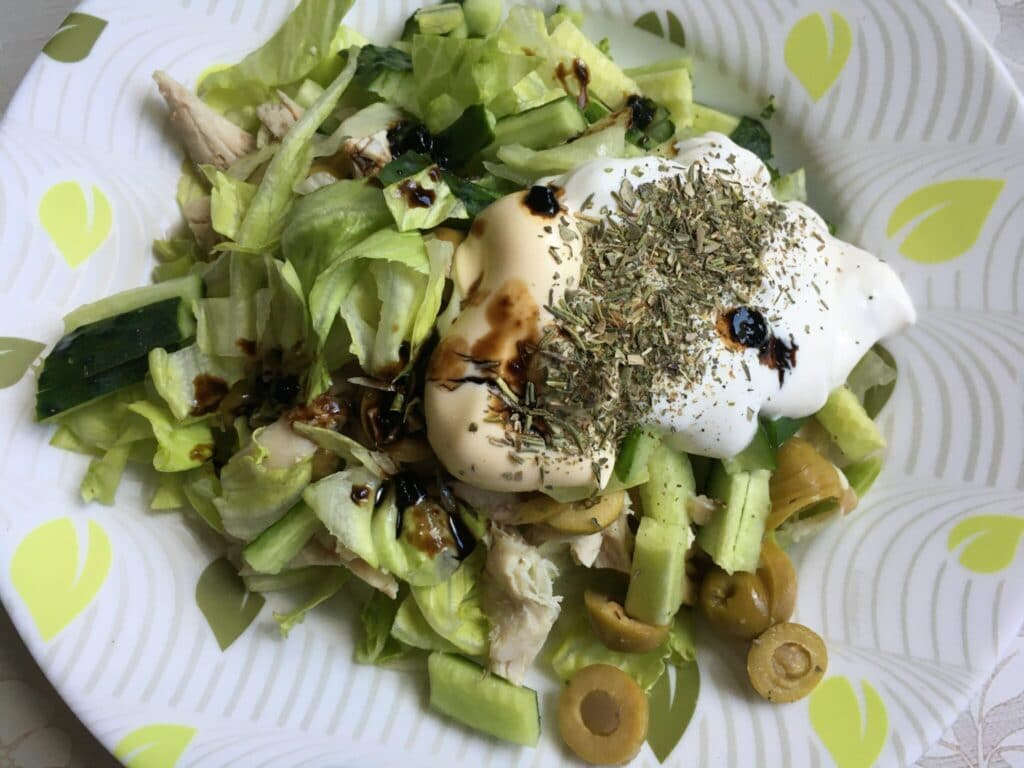 Фото рецепта - Пита с куриным филе и овощами - шаг 2